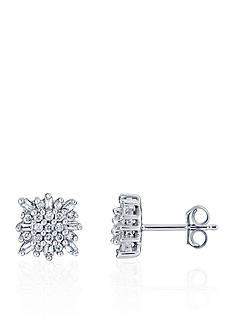 Belk & Co. 0.33 ct. t.w. Diamond Earrings in 10K White Gold