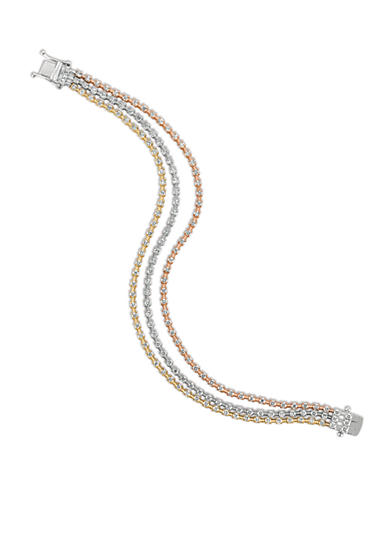 Le Vian® Vanilla Diamonds® Bracelet in 14K Strawberry Gold®, Vanilla Gold®, and Honey Gold™