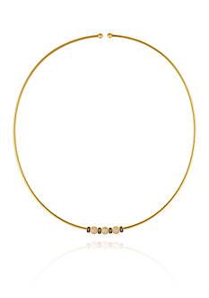 Le Vian Vanilla Diamonds® and Chocolate Diamonds® Necklace in 14K Strawberry Gold®