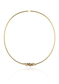 Le Vian Vanilla Diamonds® and Chocolate Diamonds® Necklace in 14K Honey Gold™