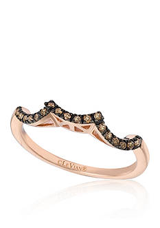 Le Vian Bridal Chocolate Diamonds® Ring in 14k Strawberry Gold®