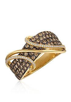 Le Vian Chocolate Diamonds® and Vanilla Diamonds® in 14k Honey Gold™