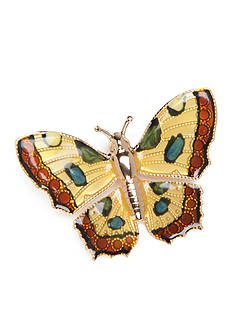 Kim Rogers® Gold-Tone Monarch Butterfly Boxed Pin