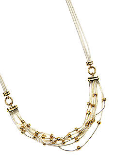 Napier Multi Row Frontal Necklace