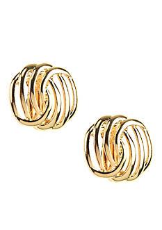 Napier Button Clip Earring
