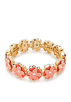 Napier Spring Forward Flower Stretch Bracelet