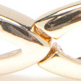 Jewelry & Watches: Stretch Sale: Gold Napier Silver-Tone Golden Weave Stretch Bracelet