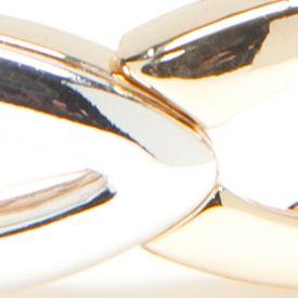Jewelry & Watches: Stretch Sale: Multi Napier Silver-Tone Golden Weave Stretch Bracelet