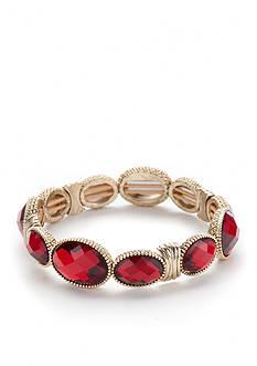 Napier Gold-Tone Stretch Bracelet