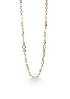 Napier Gold-Tone Gold J'adore Strand Necklace