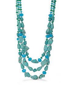 Napier Cotton Candy 16-in Multi Row Necklace