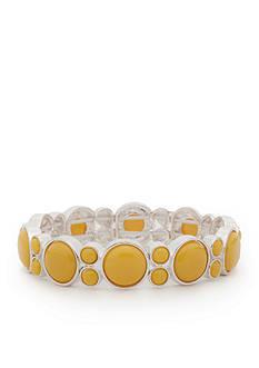 Napier Silver-Tone Brite Spot Bracelet
