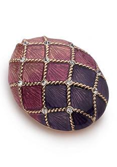 Napier Gold-Tone Easter Egg Pin