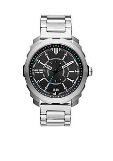Diesel Men's Machinus NSBB Stainless Steel Three-Hand Watch