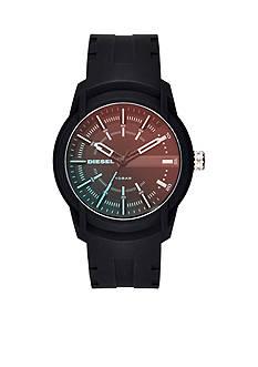 Diesel Armbar Black Silicone Watch