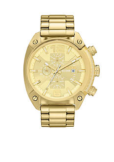 Diesel Men's Gold-Tone Stainless Steel Chronograph Watch