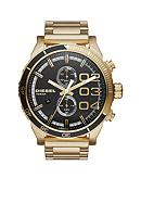 Diesel Men's Gold-Tone Stainless Steel Double