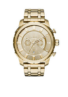 Diesel Men's Stronghold Gold-Tone Chronograph Watch
