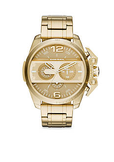 Diesel Men's Ironside Gold-Tone Chronograph Watch
