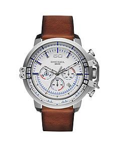 Diesel Men's Deadeye Light Brown Leather Watch