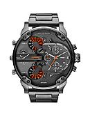 Diesel Men's Gunmetal Stainless Steel