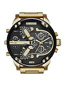 Diesel Mr. Daddy 2.0 Gold-Tone Stainless Steel