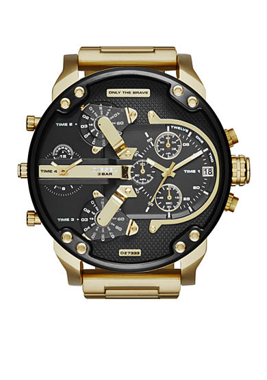 Diesel Mr. Daddy 2.0 Gold-Tone Stainless Steel Multifunction Watch