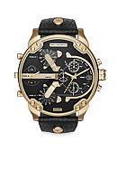 Diesel Men's Mr. Daddy 2.0 Gold-Tone and Black