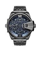 Diesel Men's Uber Chief Gunmetal IP Stainless