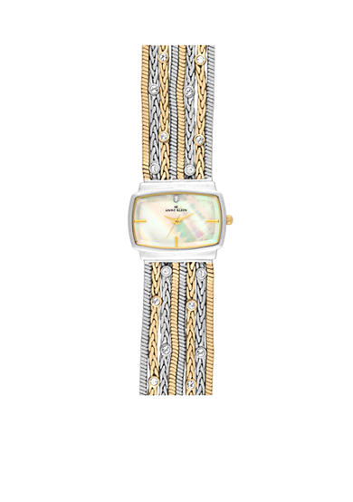 Anne Klein Fashion Metal Chain Bracelet Watch