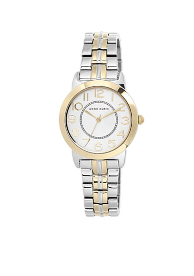Anne Klein Gold Two-Tone Easy Read Watch