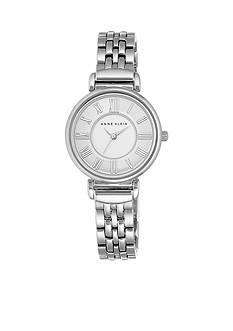 Anne Klein Women's Silver-Tone Bracelet Link Watch