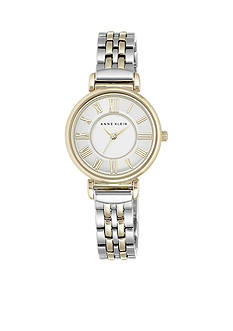 Anne Klein Women's Two-Tone Bracelet Link Watch