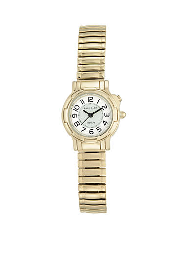 Anne Klein Women's Gold Tone Expansion Watch