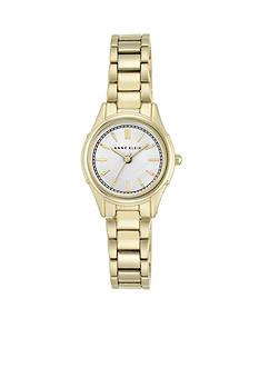 Anne Klein Women's Gold-Tone Link Watch
