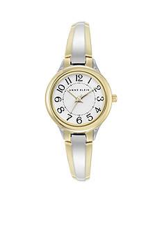 Anne Klein Women's Two-Tone Bangle Watch