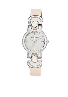 Anne Klein Pink Leather Watch