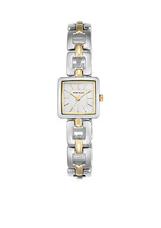 Anne Klein Women's Two-Tone Square Watch