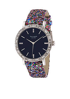 kate spade new york® Women's Pave Interchangeable Strap Metro Grand Watch