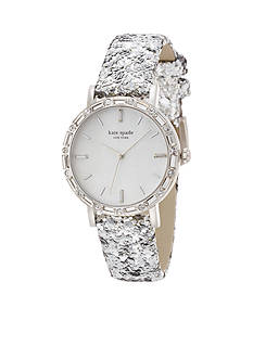 kate spade new york® Women's Pave Interchangeable Metro Ski Watch