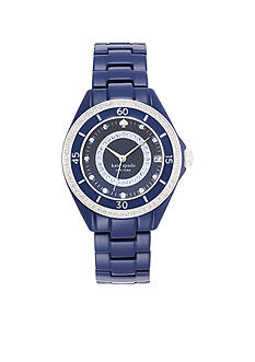 kate spade new york® Pave Enamel Seaport Grand Watch