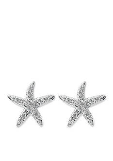 Belk Silverworks Pure 100 Starfish Earrings