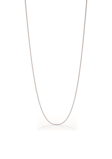 Belk Silverworks Pure 100 E Coated Rolo Chain Necklace