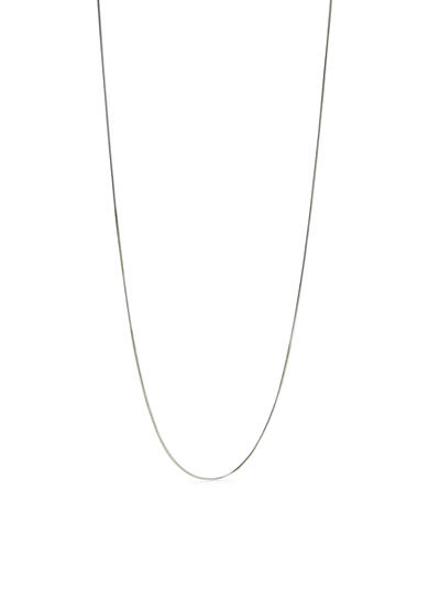Belk Silverworks Pure 100 Snake Chain Necklace