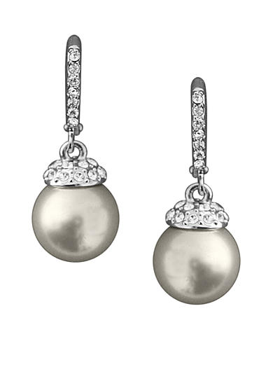 Givenchy Drop Pearl Earrings