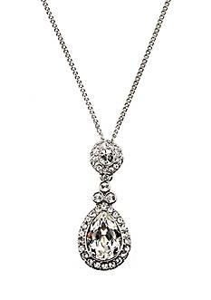 Givenchy Teardrop Pendant Necklace