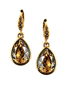 Givenchy Golden Shadow Crystal Earrings
