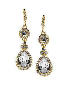 Givenchy Gold Teardrop Earrings