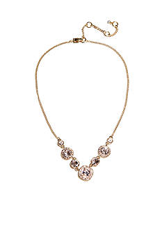 Givenchy Silk Frontal Necklace