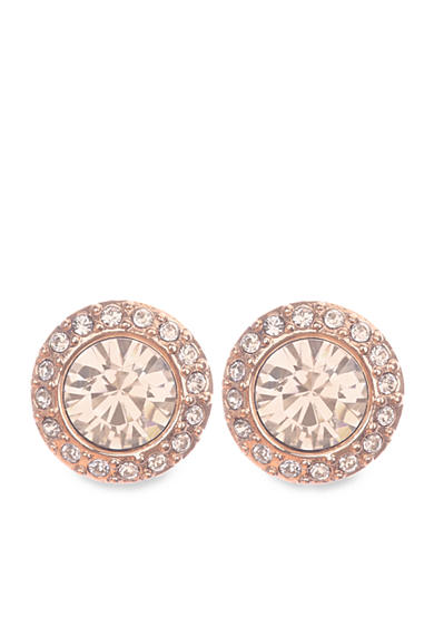Givenchy Rose Gold-Tone Stud Earrings
